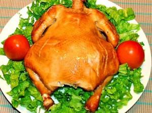 курица холодного копчения