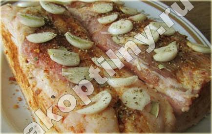 рецепт рассола для сала на горячее копчение